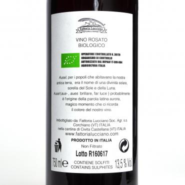 vino biologico prezzi Ausel Montepulciano 2019 Fattoria Lucciano