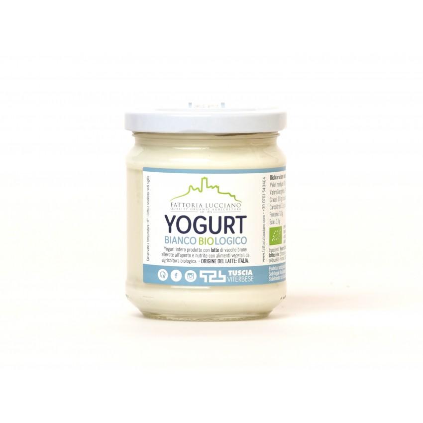 Yogurt biologico Fattoria Lucciano