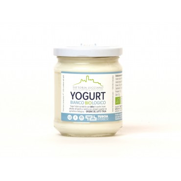 Yogurt bianco compatto 400 gr