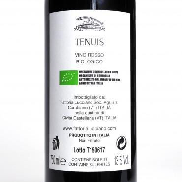 vini biologici Roma Tenuis Montepulciano 2018 Fattoria Lucciano