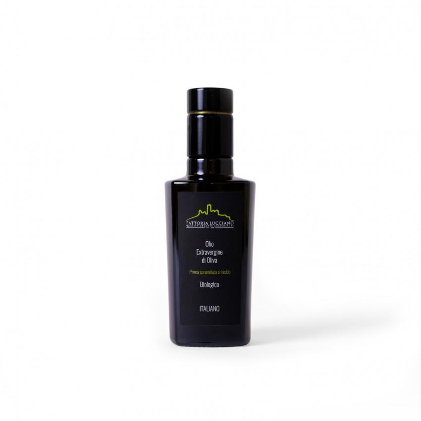 olio extravergine di oliva biologico DOP Tuscia 0.25 l Fattoria Lucciano