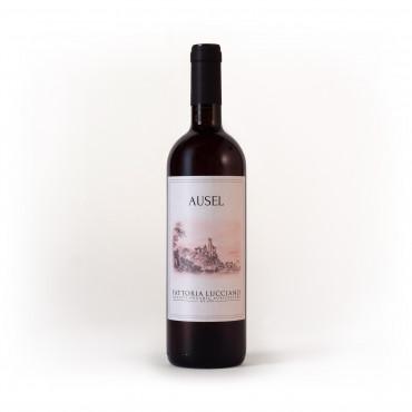 Vino rosato biologico Ausel Montepulciano 2019 Fattoria Lucciano